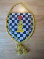 Schach Chess Ajedrez échecs - Wimpel Pennon -  UdSSR CCCP - Andere Sammlungen