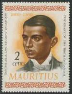 Mauritius 1969 Mi 349 * MH - Mahatma Gandhi (1869-1948) As Law Student In London / Jurastudent In London - Mahatma Gandhi