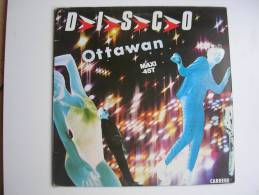 "MAXI - OTTAWAN  - CARRERE 8063  "" D.I.S.C.O ""  + 1 - 45 T - Maxi-Single"