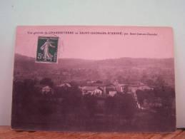 CHAUSSETERRE (LOIRE) VUE GENERALE DE CHAUSSETERRE OU SAINT-GEORGES-D´URPHE - Otros Municipios