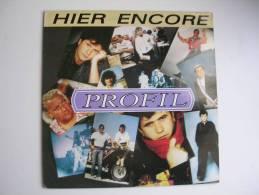 "MAXI - PROFIL  - FLARENASCH 9028  "" HIER ENCORE ""  + 2 ( Pochette : Daniel BALAVOINE ) - 45 T - Maxi-Single"