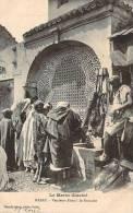 Rabat - Vendeurs D'eau à La Fontaine - Rabat