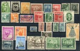Kolumbien Colombia Mixed Set Of 29 Stamps Used (A030) - Kolumbien