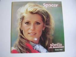 "MAXI - SHEILA  - CARRERE 8073  "" SPACER ""  + 1 - 45 Rpm - Maxi-Single"