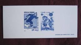 TINTIN N°3303 ( 2000 ) BOULE Et BILL N°3468 (2002) Gravure De La Poste - Documenti Della Posta