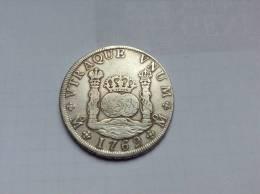 Mexique / Mexico, Carlos III 1759-1788, 8 Reales 1769 Mo MF. TTB - SUPERBE. KM 105 - Mexico