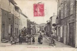 SAINT-SORLIN LA GRANDE RUE ANIMEE 01 AIN - France
