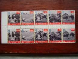 GB 1994 50TH.Anniv. Of D-DAY Issued 6th.June MNH FULL Set FIVE In GUTTER BLOCK Of TEN. - 1952-.... (Elizabeth II)