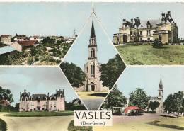 CPA-1960-79-VASLES-MULTIVUES-TBE - Frankreich