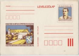 1980 - HUNGARY - OLYMPIC CHAMPION - BAUER RUDOLF - Discus Throw - PARIS 1900 - POSTCARD STATIONERY