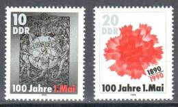 German Democratic Republic DDR 1990 - Mi.3322-3323 - MNH (**) - Neufs
