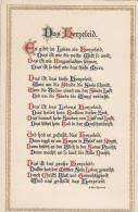 "Spruchkarte: ""Das Herzeleid"" Von Emil Quandt, Um 1910 - Filosofia & Pensatori"