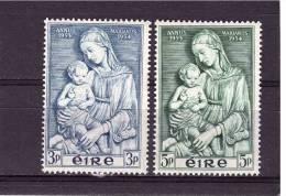 1954 IRELAND  Anno Mariano  Michel Cat N° 120/21  Perfect MNH ** - Ireland