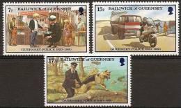 Guernsey 201/03 ** Policia. 1980 - Guernesey