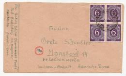 Alliierte Besetzung Brief Kontrollrat I Mef. Mi.916 Brahlsdorf  (2693) - Gemeinschaftsausgaben