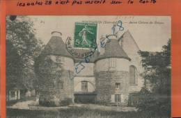 CPA 28, PONTGOUIN,  Ancien Château Des Evêques,   Scènes & Types, Animé,  Mars 2013  - 091 - Other Municipalities