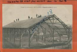 CPA 28, NOGENT-LE-ROI, Hangar En Construction- BERNARDIN,  Scènes & Types, Animé,  Mars 2013  - 099 - Sonstige Gemeinden