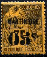 MARTINIQUE 1891 - Yv.13a (Mi.11, Sc.15) MLH (traces De Charniere) Perfect (VF) - Nuevos