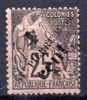 ST.PIERRE & MIQUELON 1891-92 - Yv.41 (Mi.37, Sc.43) MH (charniere) VF - St.Pierre Et Miquelon