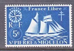Saint Pierre And Miquelon  300   *   SAILING  SHIP - St.Pierre & Miquelon