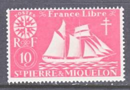 Saint Pierre And Miquelon  301   *   SAILING  SHIP - St.Pierre & Miquelon