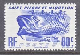 Saint Pierre And Miquelon  329   *  FAUNA  FISHING - St.Pierre & Miquelon