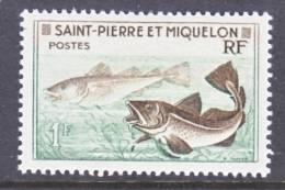 Saint Pierre And Miquelon  352   *    FAUNA  FISH - St.Pierre & Miquelon
