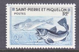 Saint Pierre And Miquelon  353   *    FAUNA  FISH - St.Pierre & Miquelon