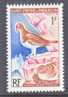 Saint Pierre And Miquelon  363   *    FAUNA  BIRDS - St.Pierre & Miquelon