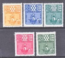 Saint Pierre And Miquelon  J 68-72   * - Postage Due