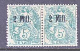 Alexandria  31 X 2  Fault  ** - Alexandria (1899-1931)