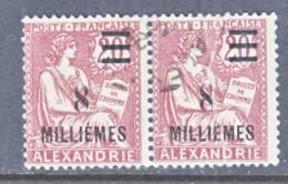 Alexandria  37 X 2  Fault  (o) - Alexandria (1899-1931)