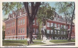 CPA - Maine Bath Morse High School - Etats-Unis