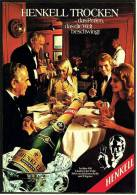 Reklame Werbeanzeige  -  Sekt Henkell Trocken  ,  ...das Perlen, Das Die Welt Beschwingt  ,  Von 1974 - Alkohol
