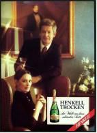 Reklame Werbeanzeige  -  Sekt Henkell Trocken  ,  ...die Welt Von Ihrer Schönsten Seite  ,  Von 1977 - Alkohol