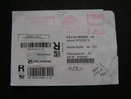 == CSR Brief Hohes Porto , Mängel..2013 - Tschechische Republik