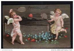 ANGELOTS JOUANT AU TENNIS - Anges