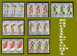 154/160** Non Dentelé/Ongetand - Expo Internationale De NY - BURUNDI - 1962-69: Neufs