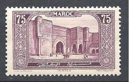 MAROC  N� 115 NEUF** LUXE
