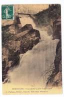 (RECTO / VERSO) MONTLUCON EN 1910 - CASCADE DE LA PRISE D' EAU A SCEAU - SUPERBE CARTE - Montlucon
