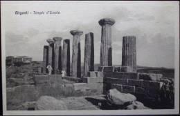 AGRIGENTO GIRGENTI Tempio D'Ercole - Formato Piccolo Non Viaggiata - Agrigento