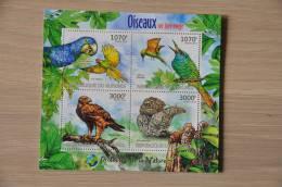 M1-70 ++ 2012 REP. BURUNDI BIRDS VOGELS OISEAUX OWL UIL PARROT - Burundi