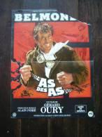 AFFICHE CINEMA / EO 1982 / L AS DES AS AVEC BELMODO/ DANS L ETAT - Posters