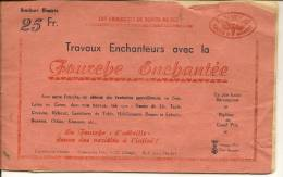 Brochure Travail Au CROCHET 8 Pages LISEUSE,PULL-OVER, MANTEAU,PELERINE. - Other
