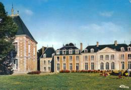 Carte Postale 76. Ecalles-Alix   Chateau De Beauvoir  Vancances SNCF  Par Yvetot Trés Beau Plan - Frankreich