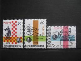 Indonesia 1973 MNH 735.37 - Indonésie