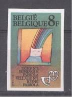 BELGIE - OBP Nr 2102 - ONGETAND/NON-DENTELE (genummerd/numéroté) - Jeugdfilatelie - MNH**  - Cote 20,00 € - Belgio