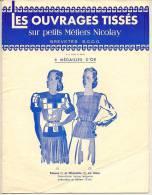 """Brochure """"LES OUVRAGES TISSES"""" Sur Petis Métiers NICOLAY Brevetés S.G.D.G. - Creative Hobbies"""
