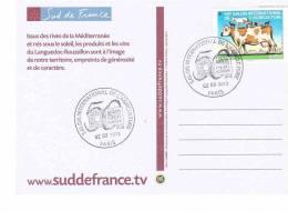 SALON DE L´AGRICULTURE PARIS 2013 50 Eme ANNIVERSAIRE 2 Scans - France