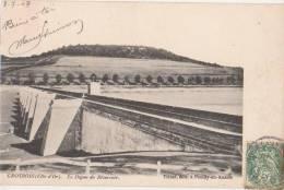 CPA 21 GROSBOIS La Digue Du Réservoir 1907 - France